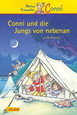 Conni-Erzählbände 9: Conni und die Jungs von nebenan von Albrecht,  Herdis, Boehme,  Julia