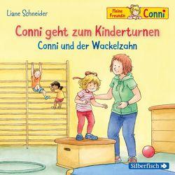 Conni geht zum Kinderturnen / Conni und der Wackelzahn (Meine Freundin Conni – ab 3 ) von Schneider,  Liane