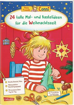 Conni Gelbe Reihe: 24 tolle Mal- und Bastelideen für die Weihnachtszeit von Sörensen,  Hanna, Velte,  Ulrich
