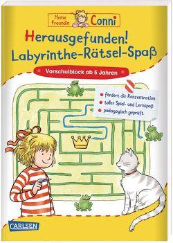 Conni Gelbe Reihe: Herausgefunden! Labyrinthe-Rätsel-Spaß von Sörensen,  Hanna, Velte,  Ulrich
