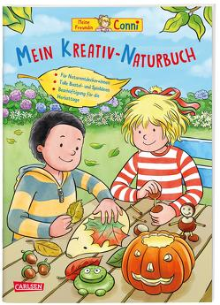 Conni Gelbe Reihe: Kreativ-Naturbuch von Sörensen,  Hanna, Velte,  Ulrich