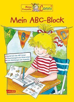 Conni Gelbe Reihe: Mein ABC-Block von Sörensen,  Hanna, Velte,  Ulrich