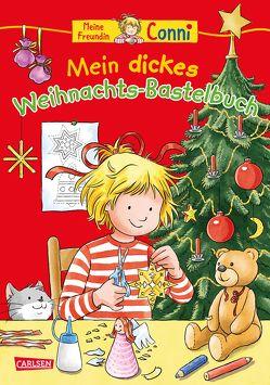 Conni Gelbe Reihe: Mein dickes Weihnachts-Bastelbuch von Sörensen,  Hanna, Velte,  Ulrich