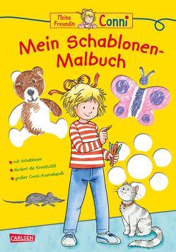 Conni Gelbe Reihe: Mein Schablonen-Malbuch von Sörensen,  Hanna, Velte,  Ulrich