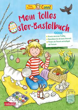 Conni Gelbe Reihe: Mein tolles Oster-Bastelbuch von Sörensen,  Hanna, Velte,  Ulrich