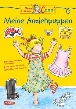 Conni Gelbe Reihe: Meine Anziehpuppen von Sörensen,  Hanna, Velte,  Ulrich