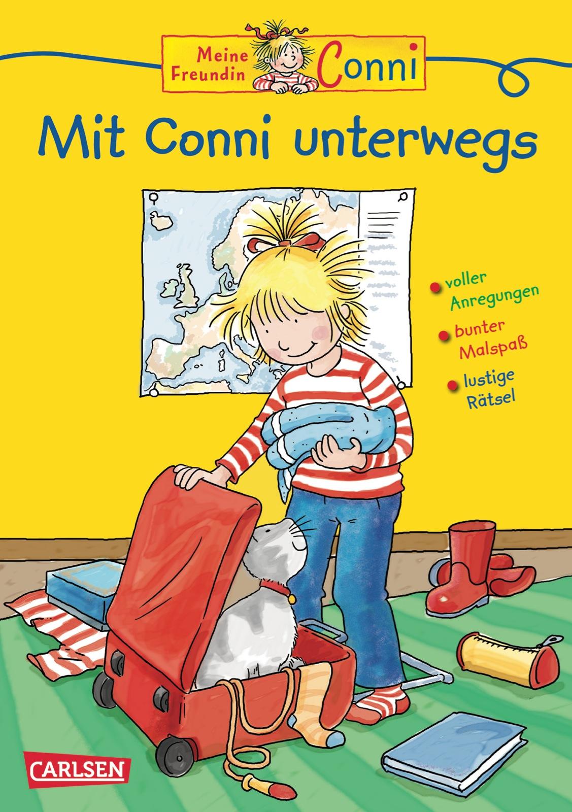 Conni Gelbe Reihe Mit Conni Unterwegs Von Sörensen Hanna Velte Ul
