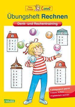 Conni Gelbe Reihe: Übungsheft Rechnen von Sörensen,  Hanna, Velte,  Ulrich