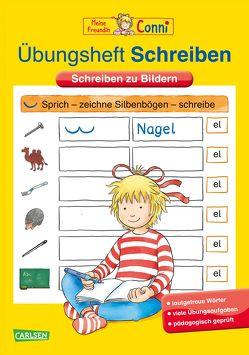 Conni Gelbe Reihe: Übungsheft Schreiben von Sörensen,  Hanna, Velte,  Ulrich
