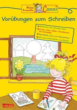 Conni Gelbe Reihe: Vorübungen zum Schreiben von Sörensen,  Hanna, Velte,  Ulrich