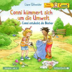Conni kümmert sich um die Umwelt / Conni entdeckt die Bücher (Meine Freundin Conni – ab 3) von Diverse, Schneider,  Liane