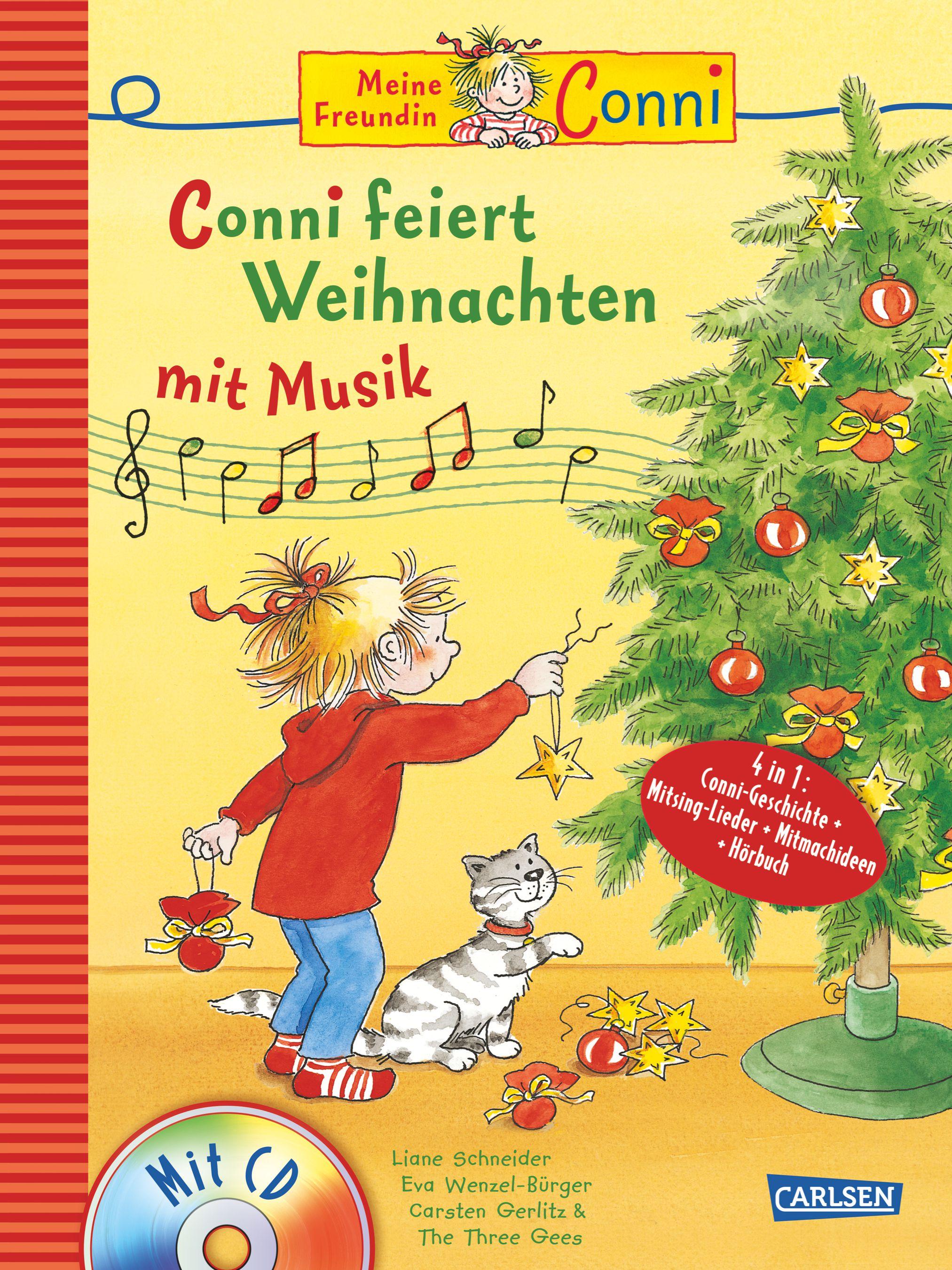 conni musicalbuch conni feiert weihnachten mit musik von. Black Bedroom Furniture Sets. Home Design Ideas