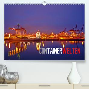 Containerwelten (Premium, hochwertiger DIN A2 Wandkalender 2020, Kunstdruck in Hochglanz) von Ellerbrock,  Bernd