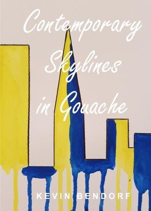Contemporary Skylines in Gouache von Bendorf,  Kevin
