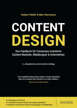 Content Design von Harmanus,  Ben, Weller,  Robert