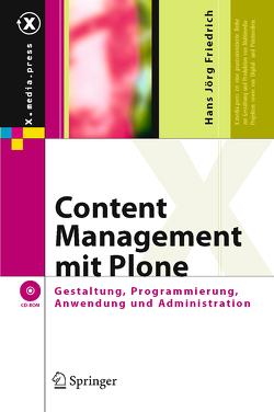 Content Management mit Plone von Friedrich,  Hans Jörg