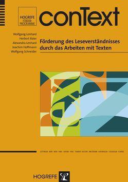 conText von Baier,  Herbert, Hoffmann,  Joachim, Lenhard,  Alexandra, Lenhard,  Wolfgang, Schneider,  Wolfgang