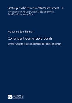 Contingent Convertible Bonds von Bou Sleiman,  Mohamed