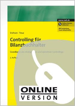 Controlling für Bilanzbuchhalter von Erichsen,  Jörgen, Treuz,  Jochen