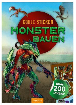 Coole Sticker – Monster bauen von Schumacher,  Timo