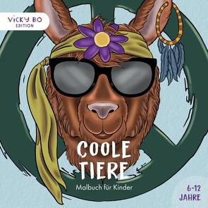 Coole Tiere – Malbuch für Kinder. 6-12 Jahre von Hohengasser,  Thomas