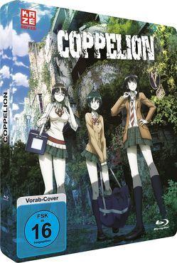 Coppelion – Gesamtausgabe – Episode 01-13 (2 Blu-rays) – Steelcase Edition von Suzuki,  Shingo
