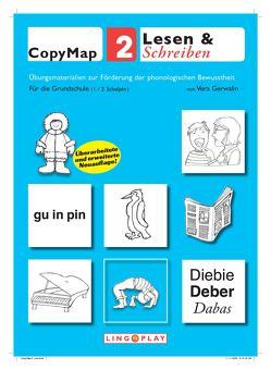 CopyMap 2: Übungsmaterialien zur Förderung der phonologischen Bewusstheit 2 von Gerwalin,  Vera, Lingoplay GmbH & Co. KG