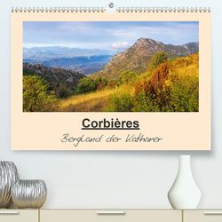 Corbieres – Bergland der Katharer (Premium, hochwertiger DIN A2 Wandkalender 2020, Kunstdruck in Hochglanz) von LianeM