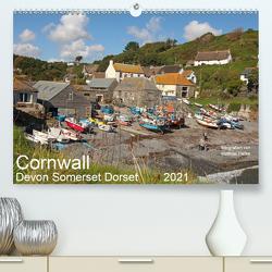 Cornwall – Devon Somerset Dorset (Premium, hochwertiger DIN A2 Wandkalender 2021, Kunstdruck in Hochglanz) von www.MatthiasHanke.de