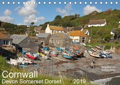 Cornwall – Devon Somerset Dorset (Tischkalender 2019 DIN A5 quer) von www.MatthiasHanke.de