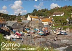 Cornwall – Devon Somerset Dorset (Wandkalender 2019 DIN A2 quer) von www.MatthiasHanke.de