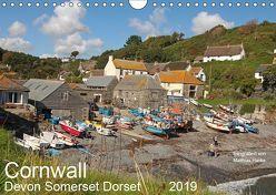 Cornwall – Devon Somerset Dorset (Wandkalender 2019 DIN A4 quer) von www.MatthiasHanke.de