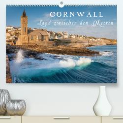 Cornwall – Land zwischen den Meeren (Premium, hochwertiger DIN A2 Wandkalender 2021, Kunstdruck in Hochglanz) von Mueringer,  Christian