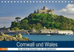 Cornwall und Wales (Tischkalender 2019 DIN A5 quer)