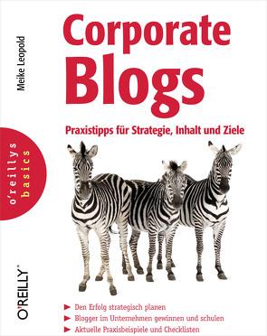 Corporate Blogs von Leopold,  Meike