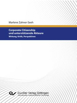 Corporate Citizenship und unterstützende Akteure von Zahner-Seeh,  Marlene