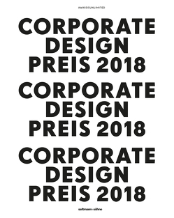 Corporate Design Preis 2018 von Leifer,  Tom, Odo-Ekke,  Bingel