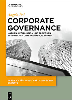 Corporate Governance von Bol,  Angela