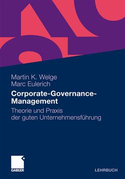 Corporate-Governance-Management von Eulerich,  Marc, Welge,  Martin