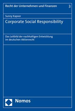 Corporate Social Responsibility von Kapoor,  Sunny