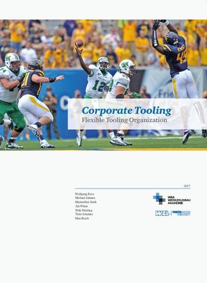Corporate Tooling von Busch,  Max, Dr. Salmen,  Michael, Prof. Dr. Boos,  Wolfgang, Rittstieg,  Felix, Schultes,  Thilo, Stark,  Maximilian, Wiese,  Jan