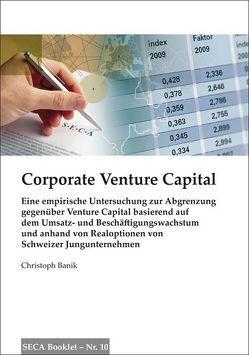 Corporate Venture Capital von Banik,  Christoph