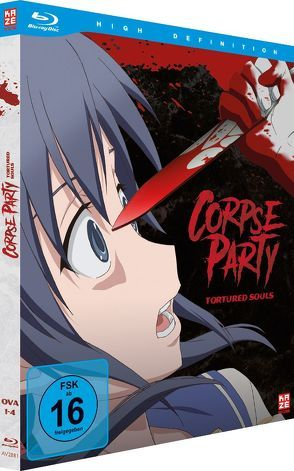 Corpse Party: Tortured Souls (4 OVAs) – Blu-ray von Iwanaga,  Akira