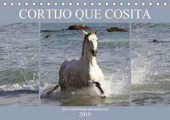 CORTIJO QUE COSITA (Tischkalender 2019 DIN A5 quer) von Eckerl Tierfotografie,  Petra