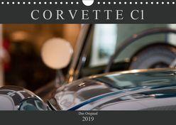 Corvette C1 – Das Original (Wandkalender 2019 DIN A4 quer) von Schürholz,  Peter