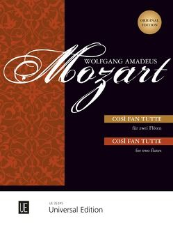Cosi fan tutte von Mozart,  Wolfgang Amadeus, Wiese,  Henrik