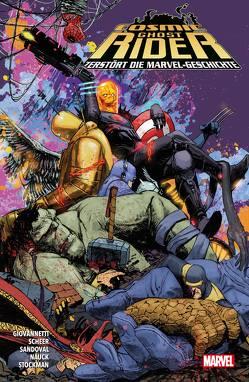 Cosmic Ghost Rider zerstört die Marvel-Geschichte von Burnett,  Dylan, Cates,  Donny