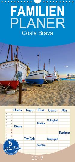 Costa Brava – Familienplaner hoch (Wandkalender 2019 , 21 cm x 45 cm, hoch) von 2015 by Atlantismedia,  (c)