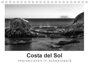 Costa del Sol Impressionen in schwarzweiß (Tischkalender 2018 DIN A5 quer) von Knappmann,  Britta