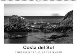 Costa del Sol Impressionen in schwarzweiß (Wandkalender 2019 DIN A2 quer) von Knappmann,  Britta